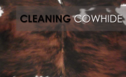 Cleaning Your Cowhide Rug
