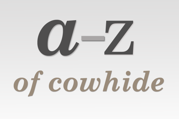 The A – Z Of All Things Cowhide!