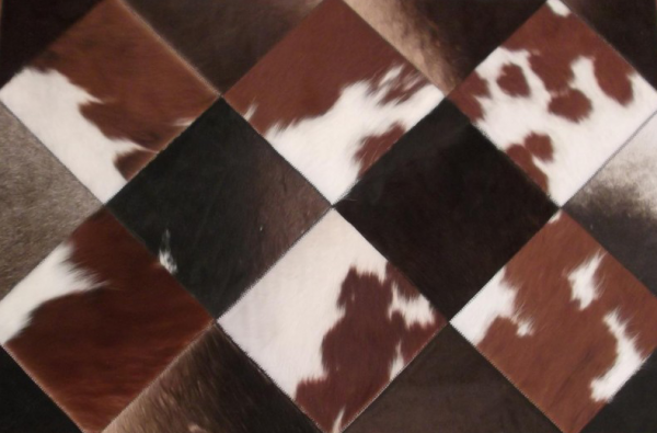 The Cowhide Skin Patchwork Quilt