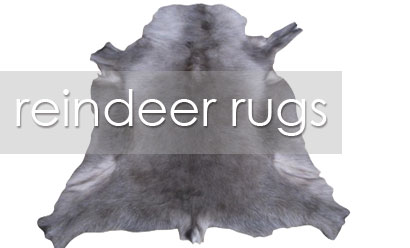 Reindeer Hides – Not Just For Christmas