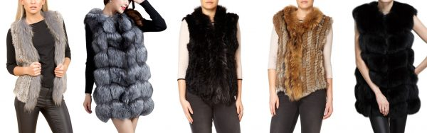 Understated Elegance With A Fur Gilet