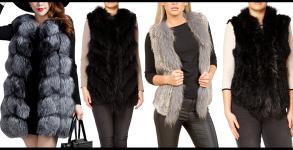 Fur Gilet Fashion